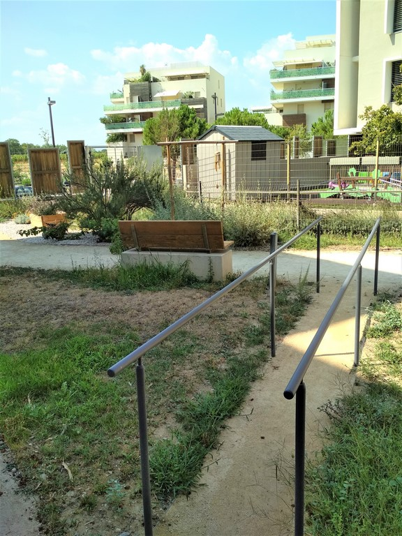 chantier jardin therapeutique montpellier - ô jardins !